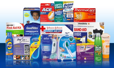 Flex Spending Eligible Drugstore Products from FSAstore.com (50% Off). Two Options Available.