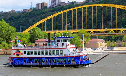image for Three Rivers Sightseeing Cruise at Gateway Clipper Fleet (Up to 36% Off). Two Options Available.