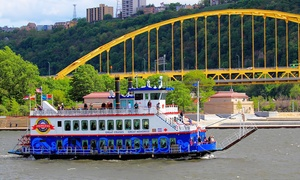 Up to 40% Off Three Rivers Sightseeing Cruise at Gateway Clipper Fleet, plus 6.0% Cash Back from Ebates.