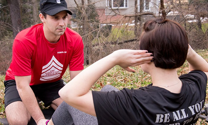 The Sergeant's Program - Multiple Locations: One, Three, or Six Months of Boot-Camp Classes at The Sergeant's Program  (Up to 88% Off)