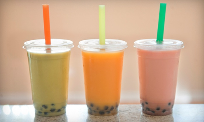 Jumbo Jumbo Cafe - Multiple Locations: Asian Food and Bubble Tea at Jumbo Jumbo Cafe(Half Off). Two Options Available.