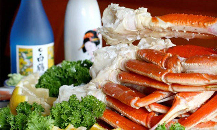 Hokkaido Seafood Buffet - Newport Beach: $30 for Two Buffet Dinners with 22-Ounce Sapporo Beers (Up to $50.98 Value)