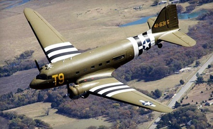 30-Minute Flight Experience Above DFW in a Douglas C-47 for One or Two from Greatest Generation Aircraft (Up to 60% Off)