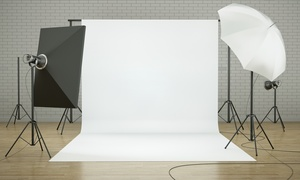 Blax And White Photography: 60-Minute Studio Photo Shoot with Retouched Digital Images from Blax and White Photography (45% Off)