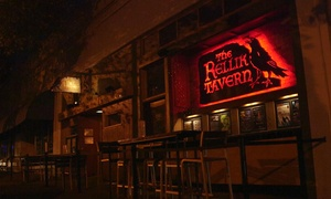 The Rellik Tavern: Tapas, Pizza, and Drinks for Two or Four or More at The Rellik Tavern (Up to 38% Off)