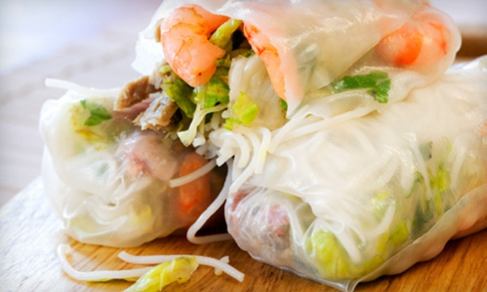 Yes Asia Cafe - Tinley Park: Vietnamese and Pan-Asian Cuisine for Lunch or Dinner at Yes Asia Cafe in Tinley Park (Half Off)