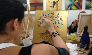 Trazos Art Academy: BYOB Painting Class for One, Two, or Four at Trazos Art Academy (56% Off)