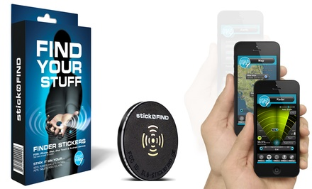 Stick-N-Find Bluetooth Location Tracker One- or Two-Pack