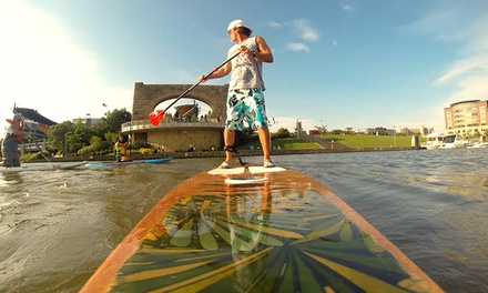 Stand Up Paddleboard Rental from SUP3Rivers (Up to 56% Off). Three Options Available.