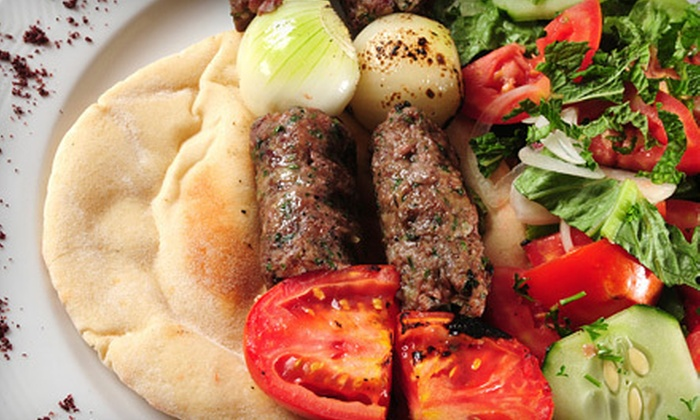 Aladdin Kabab - Reservoir: $10 for $20 Worth of Persian and Mexican Cuisine at Aladdin Kabab