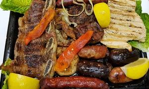 Antigua Tasca de Cuchilleros: Desde $399 por entrada + parrilla + postre + entrada al museo para dos o cuatro en Antigua Tasca de Cuchilleros