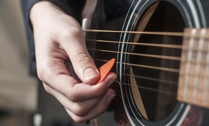 $30 for $76 Worth of One Month of Guitar <strong>Lessons</strong> at George Miller Studios