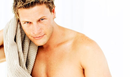 One or Two Men's Full-Back Waxing Sessions at Get Waxed (Up to 54% Off)