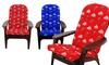 NCAA Adirondack Chair Cushion: NCAA Adirondack Chair Cushion