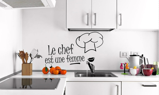 Stickers notations cuisine groupon - Stickers cuisine belgique ...