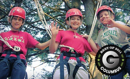 3-Hour High Ropes Course on Apr. 7, 14, 21, or 28 or May 5 from 9AM-12PM (a $45 value) - SuperGames in Delaware