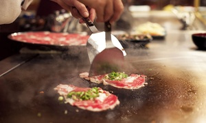 Oni Japanese Steak House: Japanese Food and Sushi for Two or Four at Oni Japanese Steak House (Up to 45% Off)