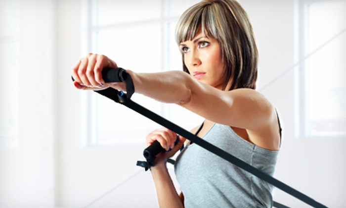 AussieFIT - Multiple Locations: $35 for 10 Knock Out or TRX Classes at AussieFIT ($150 Value)