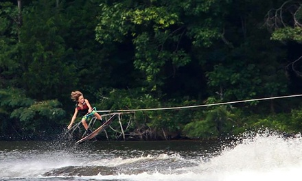 Five Day Passes with Gear or Season Pass with Coaching and Optional Gear at Hexagon Wake Park (Up to 52% Off)