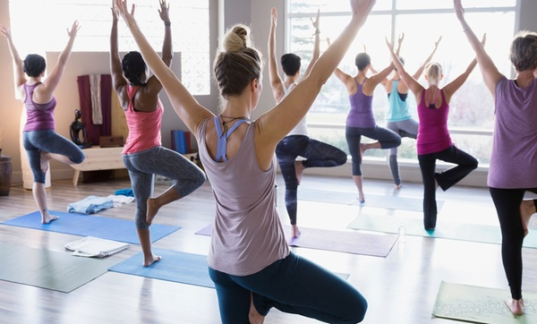 Unlimited Yoga Fitness Classes Oxygen Yoga Fitness Groupon