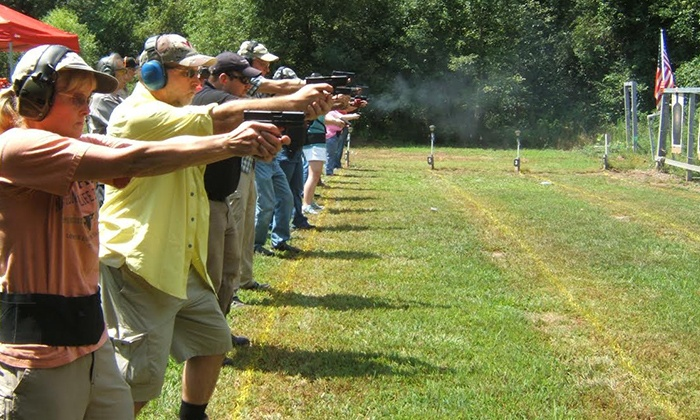 FTA - Firearms Inc. - Raleigh / Durham: Concealed-Handgun-Permit Course for One or Two at FTA-Firearms Inc. (Up to 50% Off)