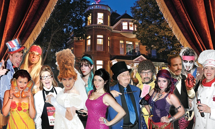 Lumber Baron Murder Mystery Dinners - Multiple Locations: Murder-Mystery Dinner Show for One or Up to 10 People at Lumber Baron Mystery Mansion (Up to 35% Off)