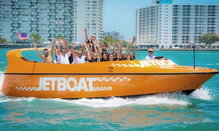 JetBoat Tickets for One or Two and Combo Tickets at Jet Boat Miami (Up to 18% Off)
