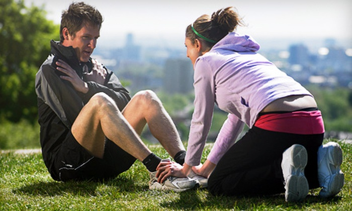 For U Fitness - Multiple Locations: Outdoor Personal Training for One or Two at For U Fitness (Up to 73% Off)