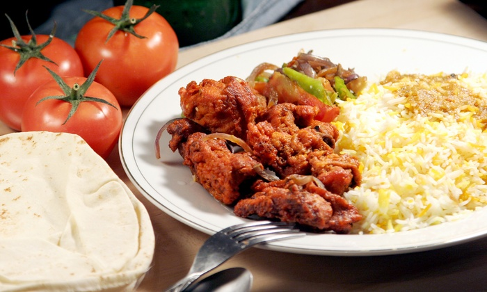 Indiya - Collingswood: Indian Cuisine at Indiya (50% Off). Two Options Available.