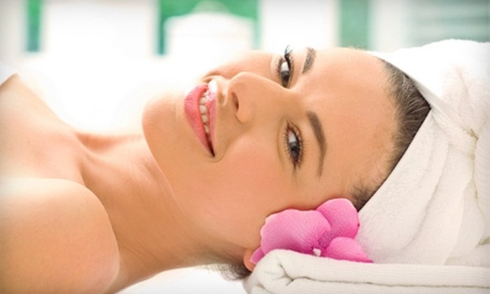 Petra's Euro Spa - Brownsville: One-Hour European Facial and Eyebrow Wax or a One-Hour Galvanic Spa Body Treatment at Petra's Euro Spa (Up to 69% Off)
