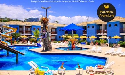 Porto Seguro/BA: 1, 2, 3, 4, 5 ou 7 noites para 2 (opções em feriados) + café da manhã no Hotel Brisa da Praia