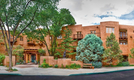 Stay at Hotel Santa Fe, Hacienda & Spa in New Mexico, with Dates into May