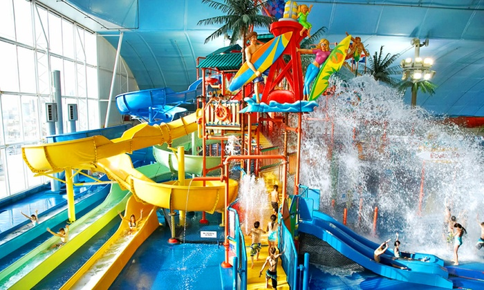 Fallsview Indoor Waterpark - Fallsview Indoor Waterpark: C$34.95 for Water Park Admission for One and One Round of Mini-Putt at Fallsview Indoor Waterpark (C$60.87 Value)