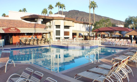1-, 2-, or 3-Night Stay for Four in a Monterey Studio at Scottsdale Camelback Resort in Scottsdale, AZ