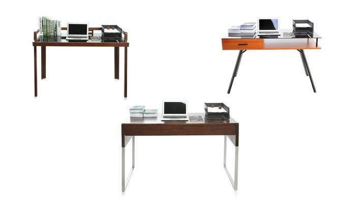 bureau pour ordinateur groupon. Black Bedroom Furniture Sets. Home Design Ideas