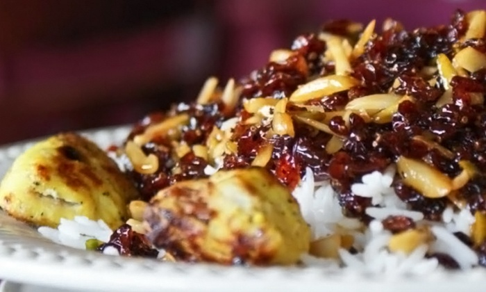 Negeen Persian Grill - Summit: Persian Cuisine for Two or Four at Negeen Persian Grill (49% Off)