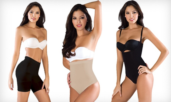 Women's Shapewear: Women's Shapewear Short, Midsection Strapless Shaper, or Midsection Shaper with Adjustable Straps (Up to 66% Off)