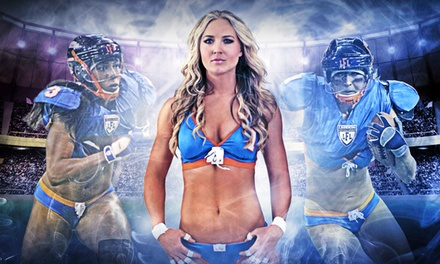 One Ticket to a Chicago Bliss Legends Football League Game at Toyota Park on April 25 or May 10 (Up to 42% Off)