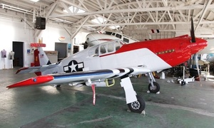 Oakland Aviation Museum: Two or Four Adult Tickets or One-Year Family Membership to Oakland Aviation Museum (62% Off)
