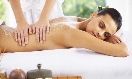 1 o 3 sesiones de peeling corporal con masaje relajante con aceites esenciales desde 14,95 € en Salón La Pelu