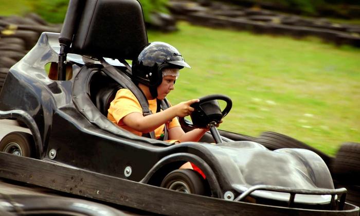 Lilli Putt - Brooklyn Park - Maple Grove: $14 for Five Go-Kart or Bumper-Boat Rides at Lilli Putt Family Entertainment Center ($25 Value)