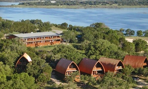 Canyon Lakeview Resort: 2-Night Stay with Wine Tasting for up to Six at Canyon Lakeview Resort in Canyon Lake, TX. Combine Up to 4 Nights