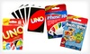 Mattel Card Game Three-Pack: $8 for Angry Birds, Phase 10, and Uno Mattel Card Games ($21.97 List Price)