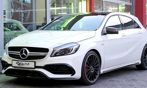 TVM Rent - Luxury and Sport Car Rental: Tagesmiete Mercedes A45 AMG bei TVM Rent – Luxury and Sport Car Rental (15% sparen*)