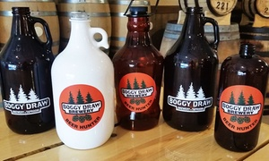 Boggy Draw Brewery: Craft-Beer Tasting for Two or Four with Take-Home Growlers at Boggy Draw Brewery (Up to 44% Off)