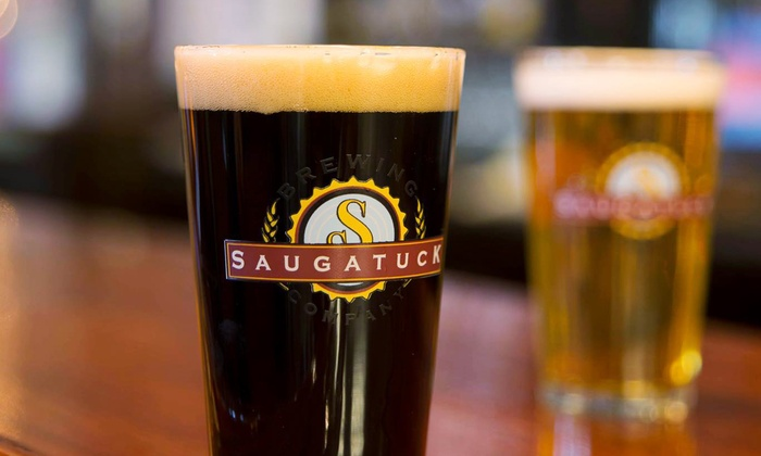 Saugatuck Brewing Company - Douglas: $15 for a Beer Tasting for Two at Saugatuck Brewing Company ($28 Value)