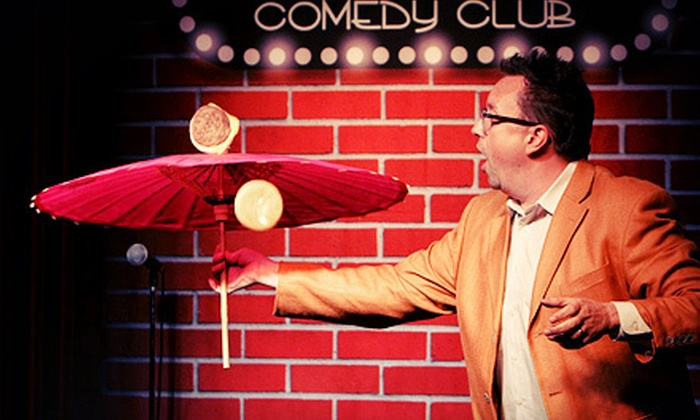 Flappers Comedy Club - Multiple Locations: Standup Show for Two or Four with Food and Drinks or a One-Day Comedy Class at Flappers Comedy Club (Up to 63% Off)