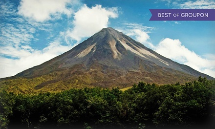 groupon daily deal - 7-Day Costa Rica Tour for Two from Ecoterra. $644.50 Per Person. See Fine Print for Child/Adult Pricing.