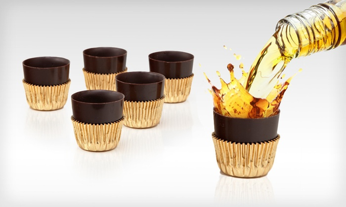 60 Astor Chocolate Liquor Cups: $21 for a Box of 60 Astor Chocolate Liquor Cups with Standard Shipping Included ($51.69 Total Value)
