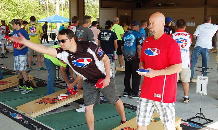 American Cornhole LLC - Lubbock Indoor Courts: $20 for Entry for Two to Cornhole State Championships from American Cornhole LLC ($40 Value)